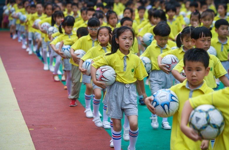 China vows to foster soccer talent in toddlers