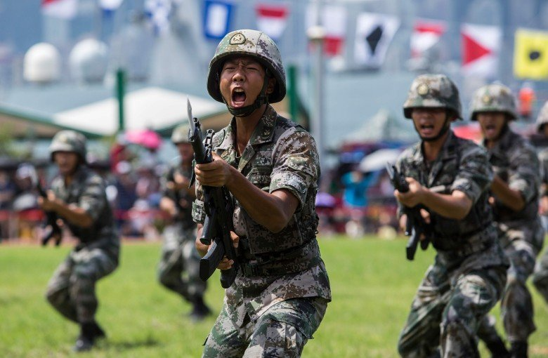 China flexes its muscles in Hong Kong with macho military video