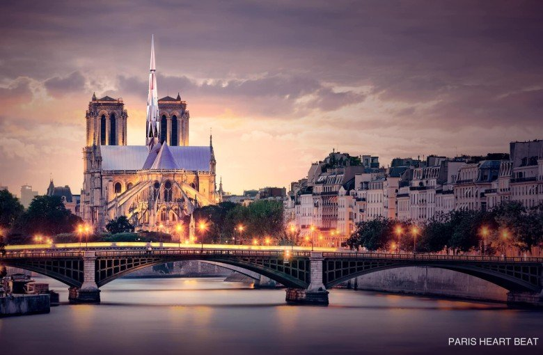 Chinese architects win unofficial Notre Dame design contest