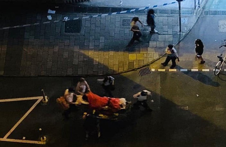 3 young Hongkongers stabbed after revealing their political views