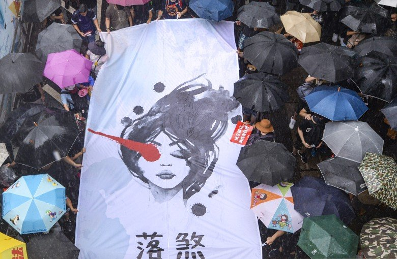 The public relations arm of Hong Kong's protest movement