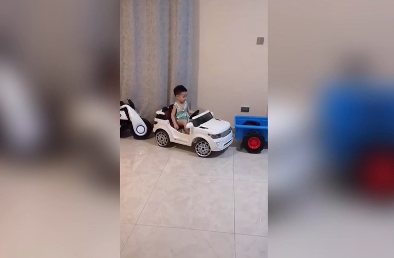 Young 'driving master' in China