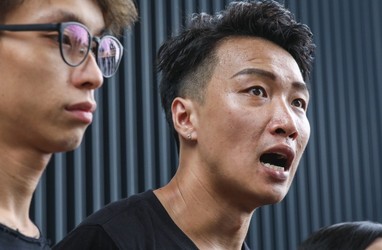 Hong Kong protest organizer attacked with baseball bats