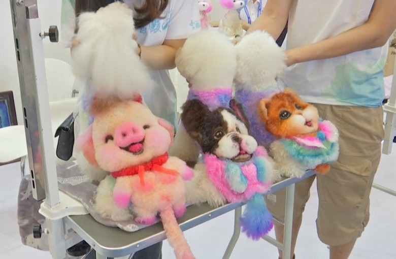 China's booming pet market