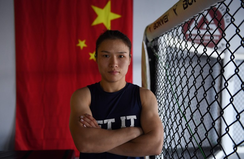 Who is Weili Zhang, China's first UFC champion?