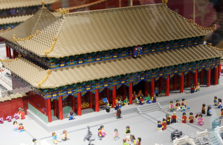 See the Great Wall and the Forbidden City in Lego form