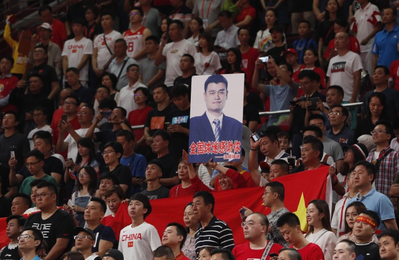 Yao Ming weeps after Chinese basketball team crushed