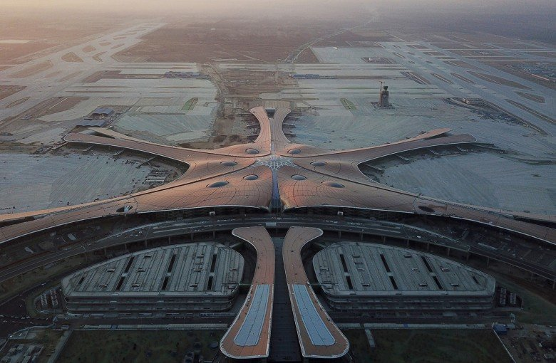 Beijing's new 'starfish' airport opens for business
