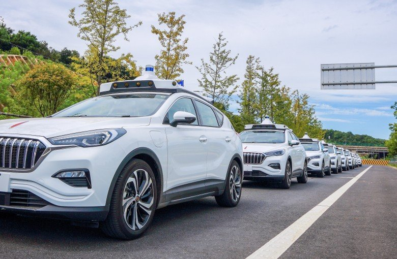 Self-driving cabs launched in southern China