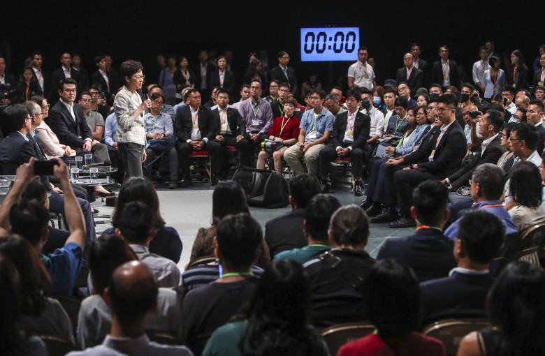Grilling Carrie Lam: few expectations and even fewer new answers