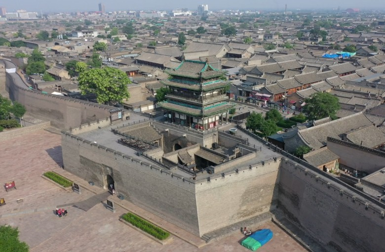 Walled Pingyao, China's former 'Wall Street'
