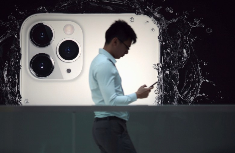 Apple tapes up Hong Kong store as 'precaution' after removing protest app