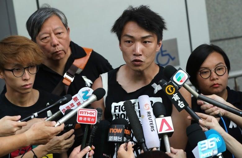 Organizer of Hong Kong's 'peacenik' protests is attacked again