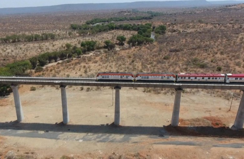 Kenya opens new China-funded rail line