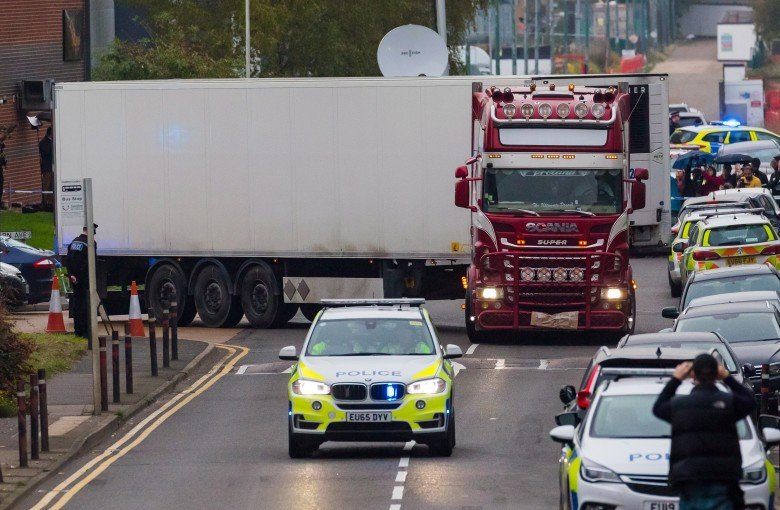 UK truck deaths shock the Chinese internet