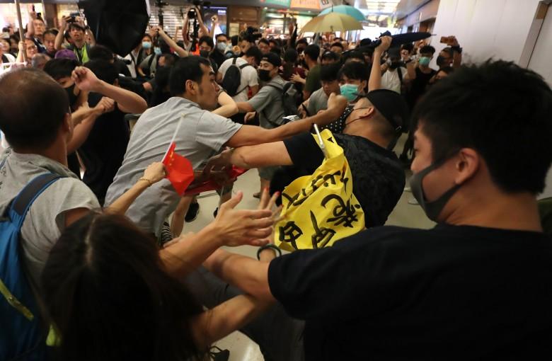 Inside Hong Kong's deep divide