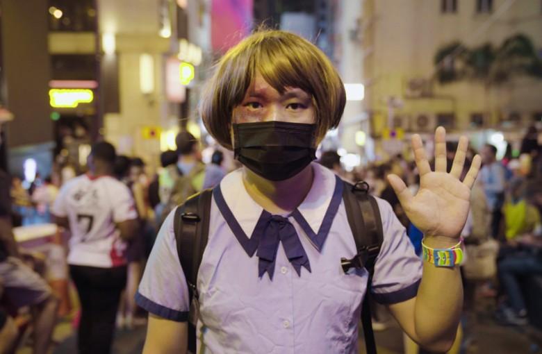 Halloween protests spook Hong Kong