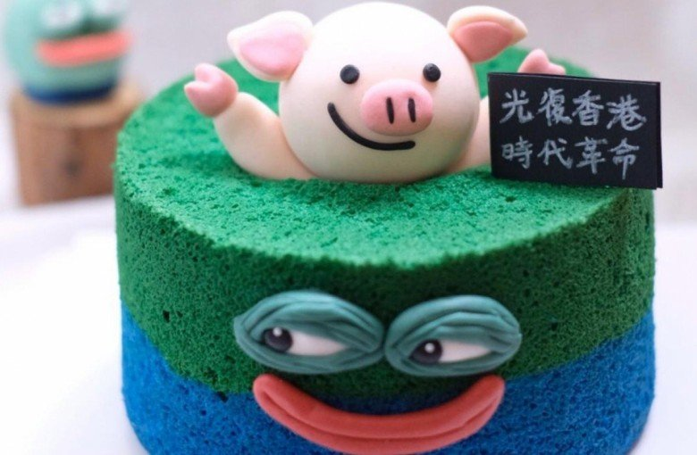 The Hong Kong bakeries supporting protests with creative designs