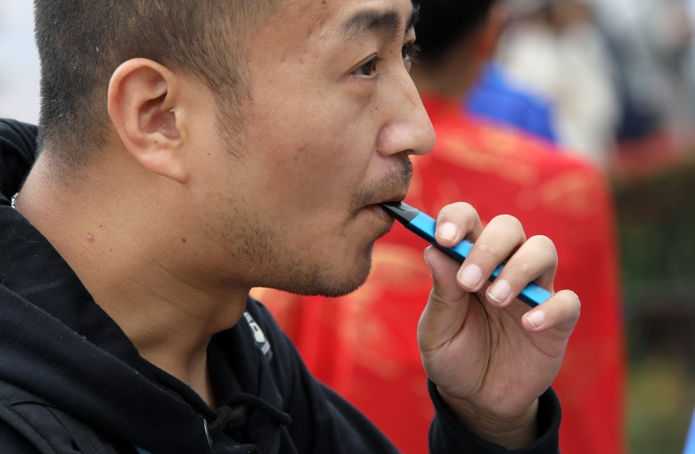 Chinese vapers upset by online sales ban of e-cigarettes