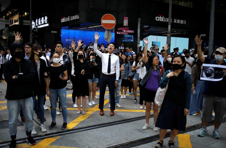 'Hongkongers, revenge': Student's death prompts outpouring of grief and anger