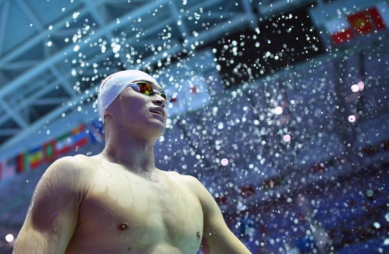 Career of Chinese swimming superstar hangs in the balance