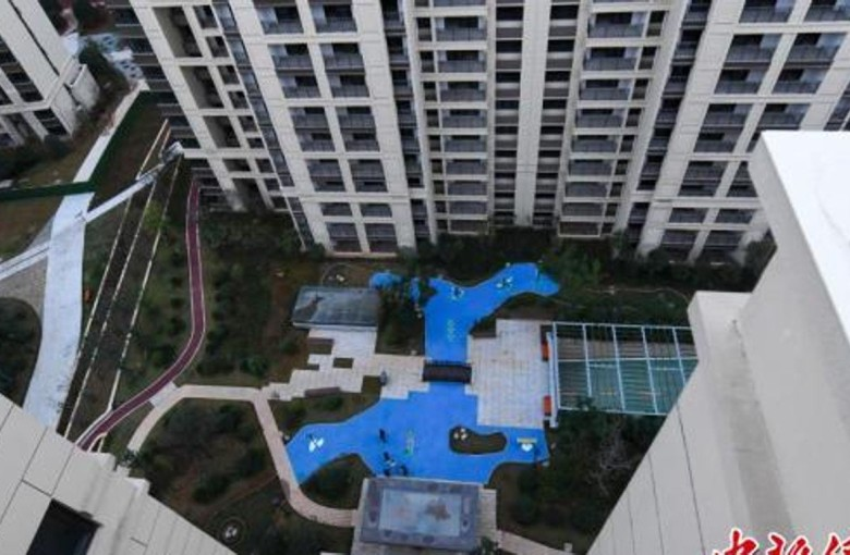 Pitched 'park views,' these Chinese homebuyers got a plastic lake