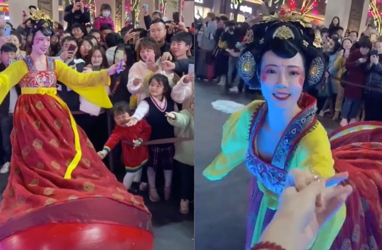 Real-life 'roly-poly toy' becomes internet sensation in China
