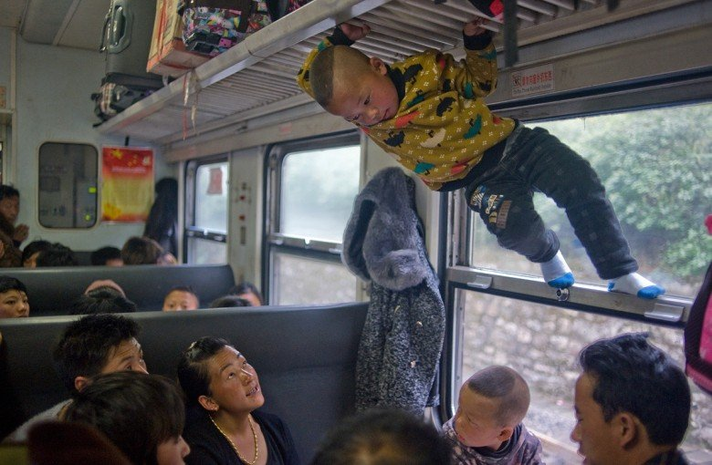 Life on China's low-speed trains