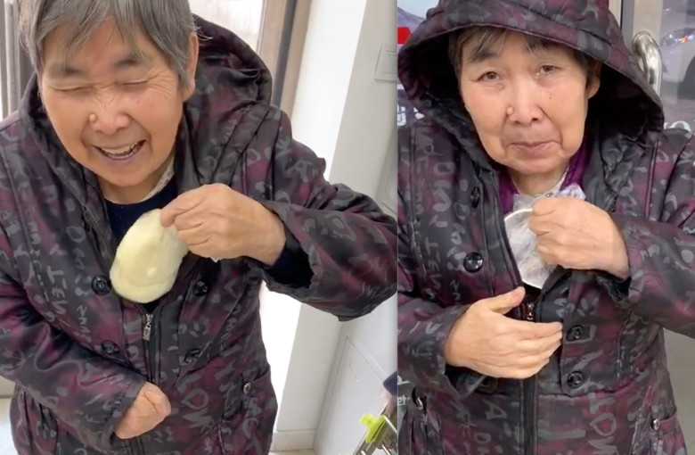 Chinese grandma's adorable 'food delivery' for grandson makes her an internet star
