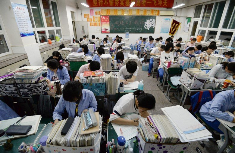 Nope, China isn't celebrating its big win in test scores. Here's why