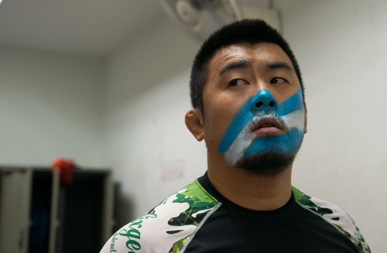 China's 'Mad Dog' fighter enters the battle of his life