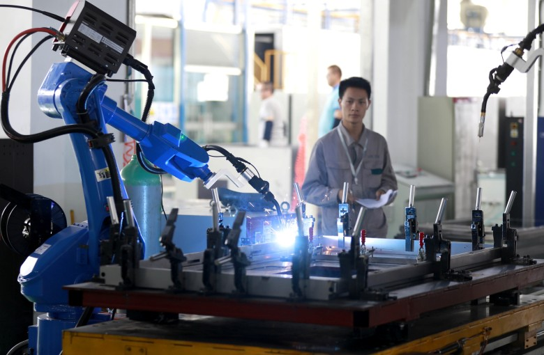 One in 20 Chinese workers could be replaced by robots by 2025