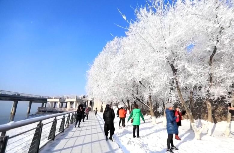 China's frozen cities
