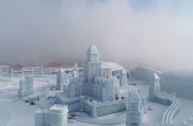 China's frozen world of ice and snow
