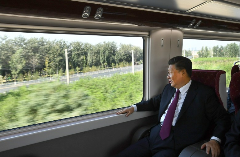 Why Xi Jinping wants everyone to know he ate on the train
