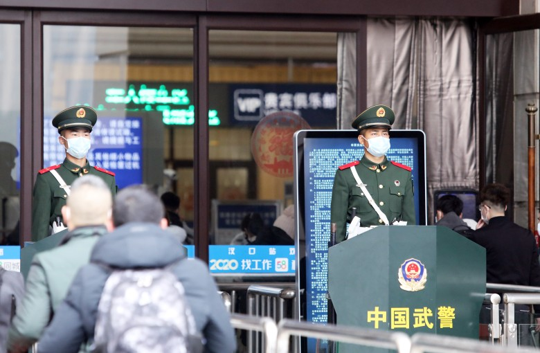 Chinese city on lockdown as authorities try to contain coronavirus outbreak