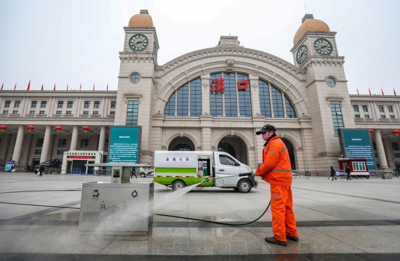 China hustles to build coronavirus hospital – in 6 days