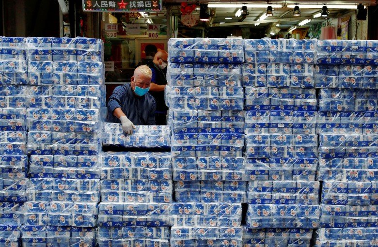 Toilet paper makers baffled by panic buying in Hong Kong