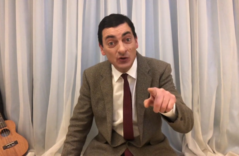 Mr Bean impersonator woos China
