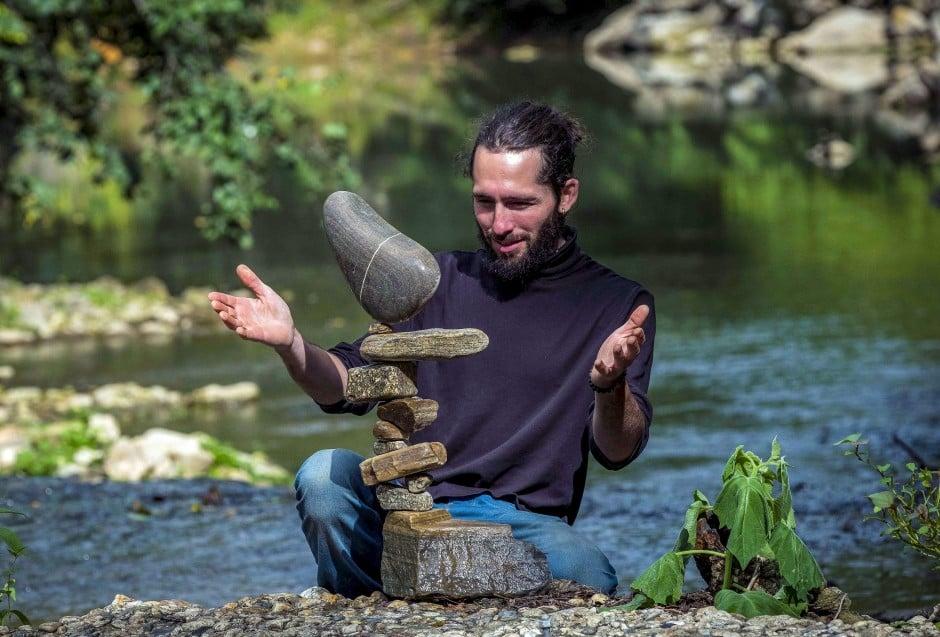 The Art Of Balancing Stones South China Morning Post