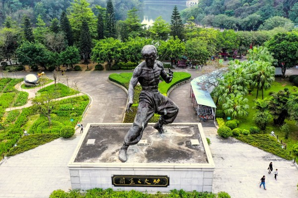 The Bruce Lee Paradise in Foshan. Photo: Martin Williams