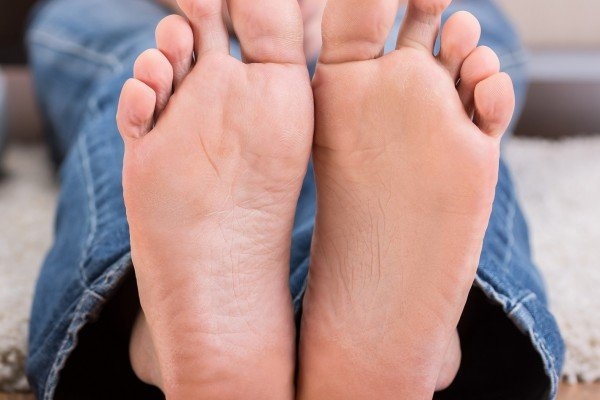 There is no correlation between the length of a man's feet and that of his penis, despite what some say. Photo: Shutterstock