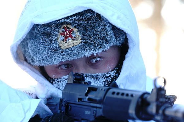 China is sending an 11-man team to Russia to take part in a gruelling military mountain challenge. Photo: Xinhua