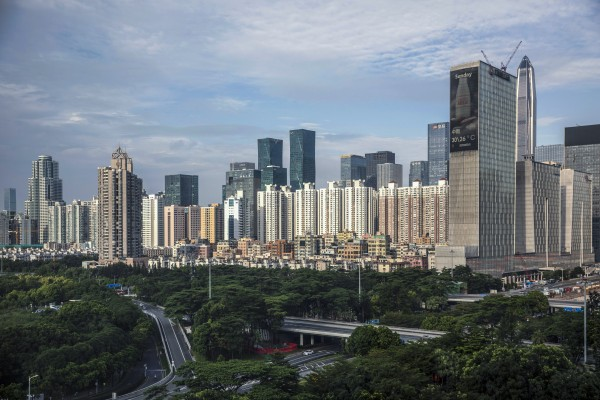 Property prices in Shenzhen have risen for 19 consecutive months, Centaline's Greater Bay Area home price index shows. Photo: Bloomberg