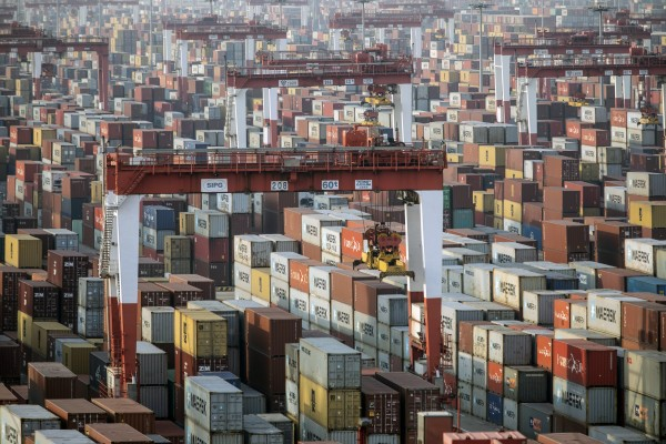 Exports in Asia are expected to grow by 8.4 per cent this year, with China to account for most. Photo: Bloomberg