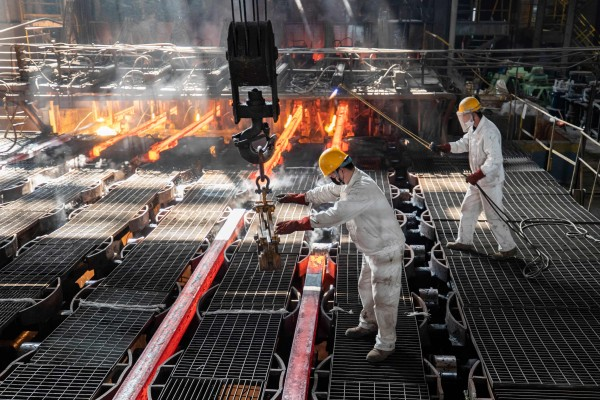 The US vowed to work to address Chinese subsidies that have created excess capacities in the steel, aluminium and solar sectors, and could soon affect other industries. Photo: AFP