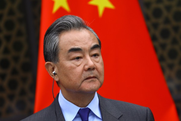 Chinese Foreign Minister Wang Yi says China will not accept a list of unilateral demands from Washington. Photo: EPA-EFE