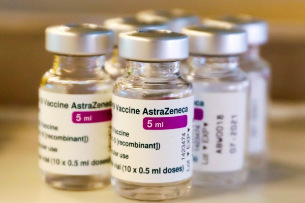 A report released on Wednesday concluded that blood clots could be a 'rare side effect' of the AstraZeneca vaccine. Photo: EPA-EFE