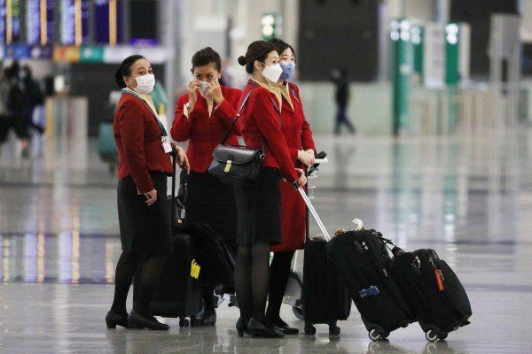 Hong Kong is expected to relax its quarantine rules for vaccinated flight staff, sources say. Photo: Nora Tam