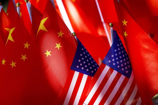 China on Tuesday gathered executives from dozens of American multinational firms for virtual meetings. Photo: AP